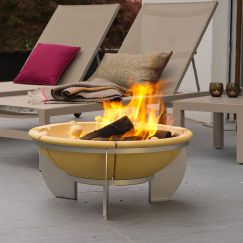 Feurio Brazier - Fire Pit + Free Grill | by DENK Ceramics