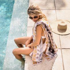Fidelis Bath Sheet by Ziporah Lifestyle