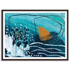 Floating Buoy | Rhonda Davies | Canvas or Prints by Artist Lane