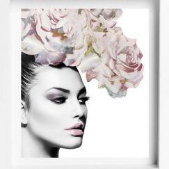 Flower Soft | Framed Print