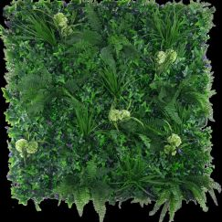 Flowering Hydrangea Jungle Vertical Garden | Green Wall UV Resistant 1m x 1m