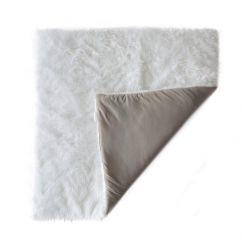 Fluffy Cotton Play Mat | Grey & White