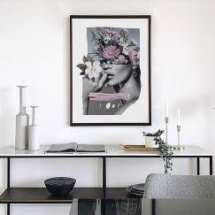 Forever Flowers | Limited Edition Print | Framed or Unframed | by Blacklist