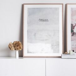 Forever Painting | Limited edition art print | Frame or Unframed | by Blacklist