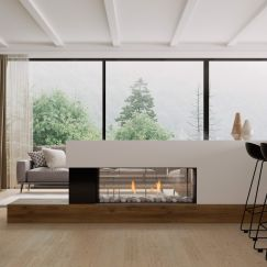Frameless Gas Fireplaces   DS Series   DS1150 Double Sided