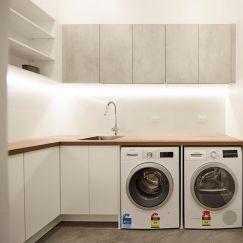 Freedom Kitchens | Laundry Build | Sticks & Wombat
