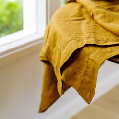 French Linen Grazing Cloth | Ex Large | Ochre