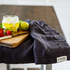 French Linen Grazing Cloth | Ex Large | Slate
