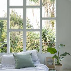 French Linen Winter White + Natural | Reversible Duvet Incl Pillowslips