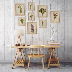 Fynbos Garden gallery wall | Set of 8 Art Prints | Framed or Unframed