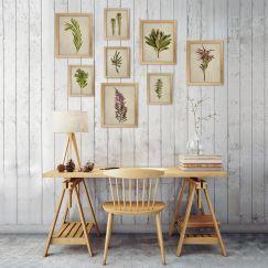 Fynbos Garden gallery wall | Set of 8 Art Prints | Unframed