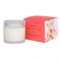 Garnet Candle by Mrs Darcy | Raspberry, Peach and Coconut