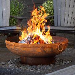 Gobi 90cm Rust Fire Pit