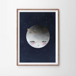 Goodnight Moon Art Print   Various Sizes