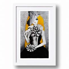Graphic Fan Girl | Signed, limited edition print | 80cm x 120cm