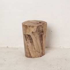 Hadi Natural Tree Stump Stool l Pre Order