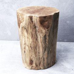 Hadi Natural Tree Stump Stool l Pre Order