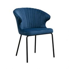 Halo Dining Chair | Blue