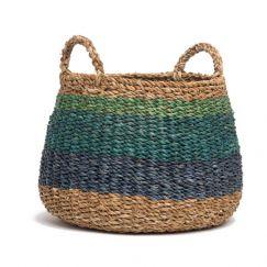 Harlem | Handmade Seagrass Basket | Fab Habitat
