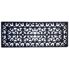 Heavy Duty Wrought Iron Rubber Door Mat 120cm x 45cm | Pepperfry