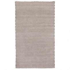 Herringbone Ash Grey | Indoor Outdoor Rug | Fab Habitat