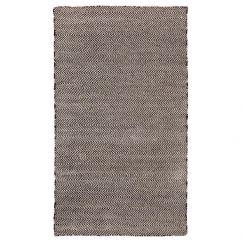 Herringbone Black | Indoor Outdoor Rug | Fab Habitat