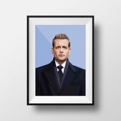 Hey Harvey | Art Print | Framed and Unframed