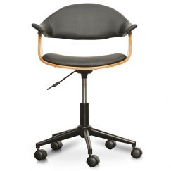 Hilton Office Chair | Black PU