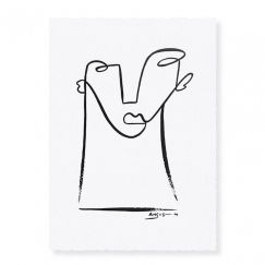 'Him' | Hand Painted Artwork by Angus Martin