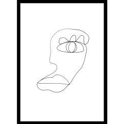 I See You | One Line Art Print | Jess Marney Design