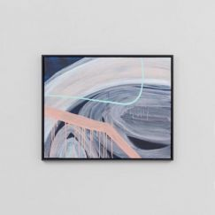 Inga1 Small | Framed Canvas Painting
