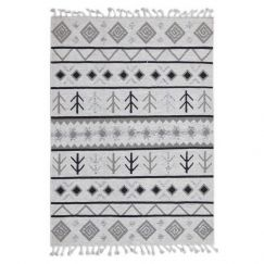 Ivory Artifact | Handwoven Wool Rug | Various Sizes