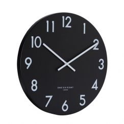 Jackson Silent Wall Clock | 40cm | Black