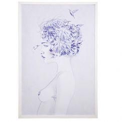 Jenny Liz Rome Art Print | Dahlia
