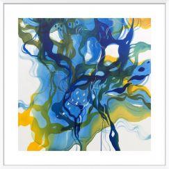 John Martono 'Summertime Blues' | Framed Art print by Tusk Gallery