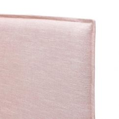 Juno Bedhead Slipcover ONLY | Queen | Dusty Pink | by Black Mango