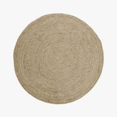 Jute Round Rug | Natural by Aura Home