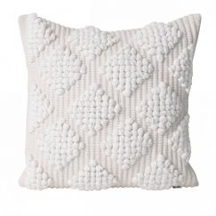 Kai Cushion | White | BY SEA TRIBE