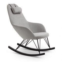 Kallan Rocking Chair | Grey