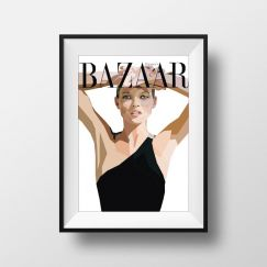 Kate Moss | Art Print | Framed and Unframed