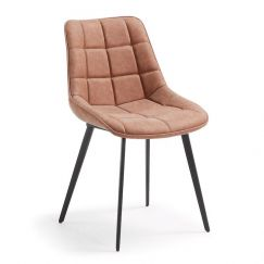 Keir Dining Chair | Rust