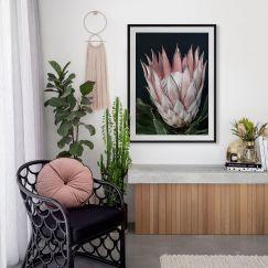 King of Flowers | Framed Art Print