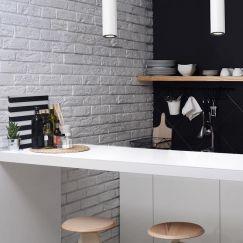 Kitchen Pendant Light | Matt White | by Custom Lighting
