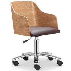 Kito Office Chair | Ash + Black | Modern Furniture