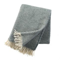 Knut Wool Blanket | Balsam Green