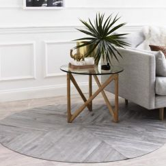 La Quinta Rug Circulo by Art Hide | Grey