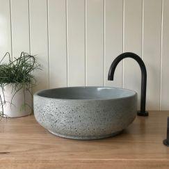 Lauren Round Basin by DLH Designs | Sage