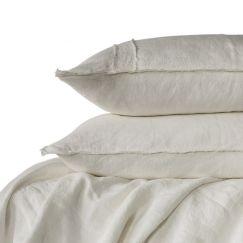 Linen Duvet Set | King Size | White