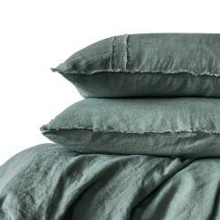 Linen Duvet Set | Queen Size | Sea Mist