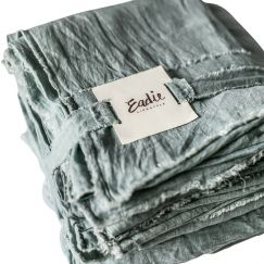 Linen Sheet Set | Queen Size | Sea Mist